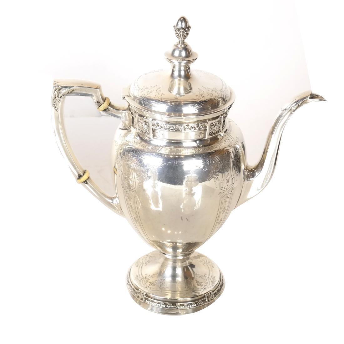5-Piece Sterling Silver Tea Service - 2