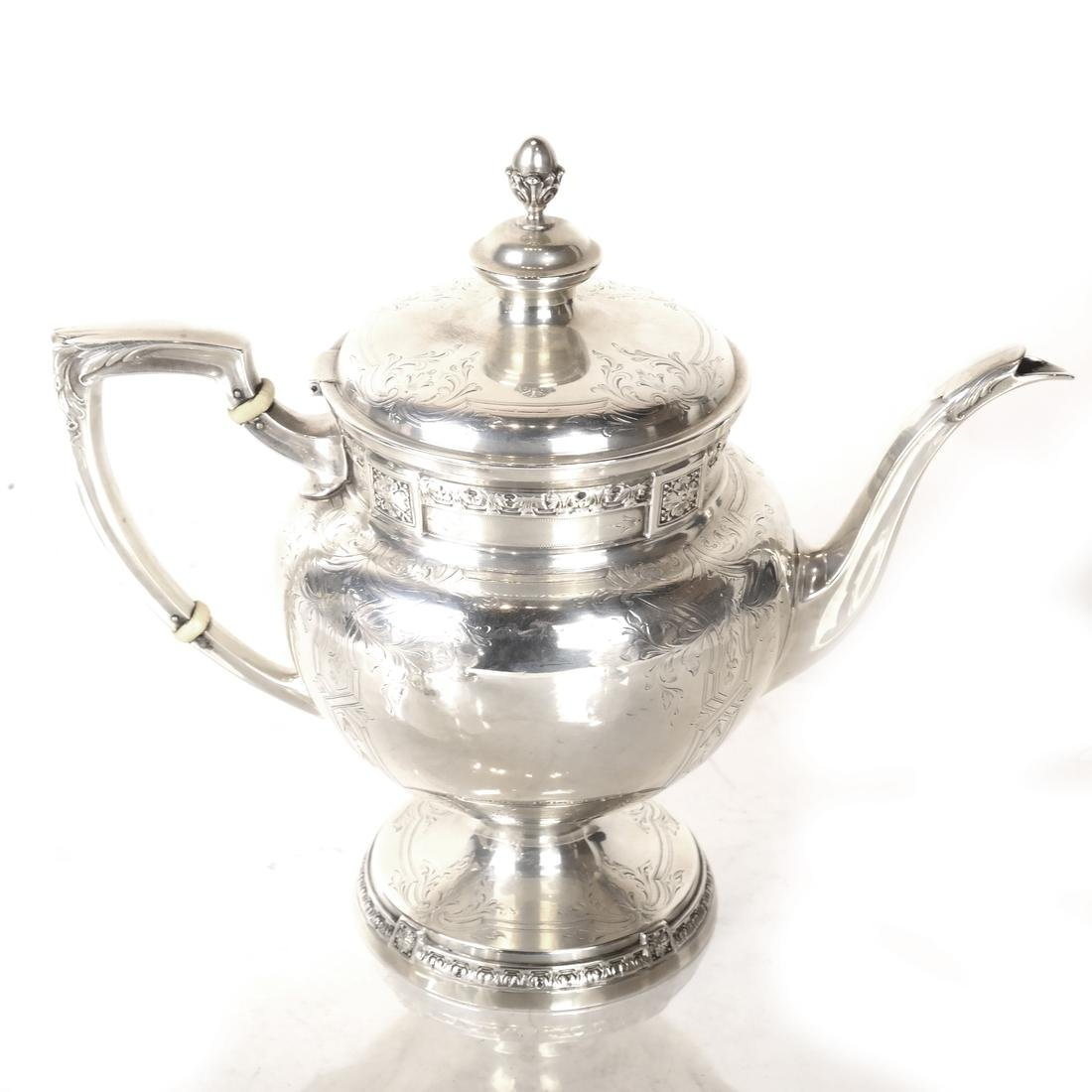 5-Piece Sterling Silver Tea Service - 3