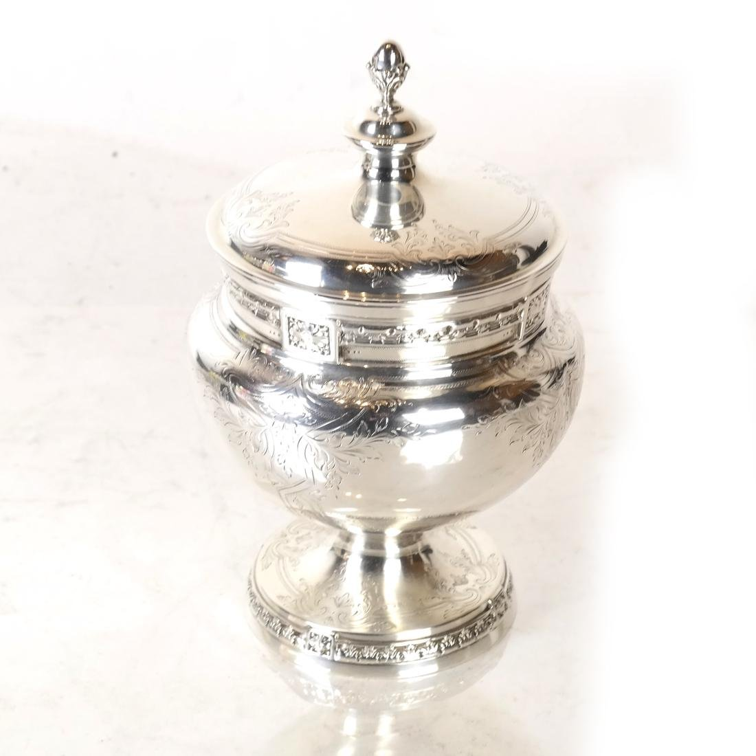 5-Piece Sterling Silver Tea Service - 6