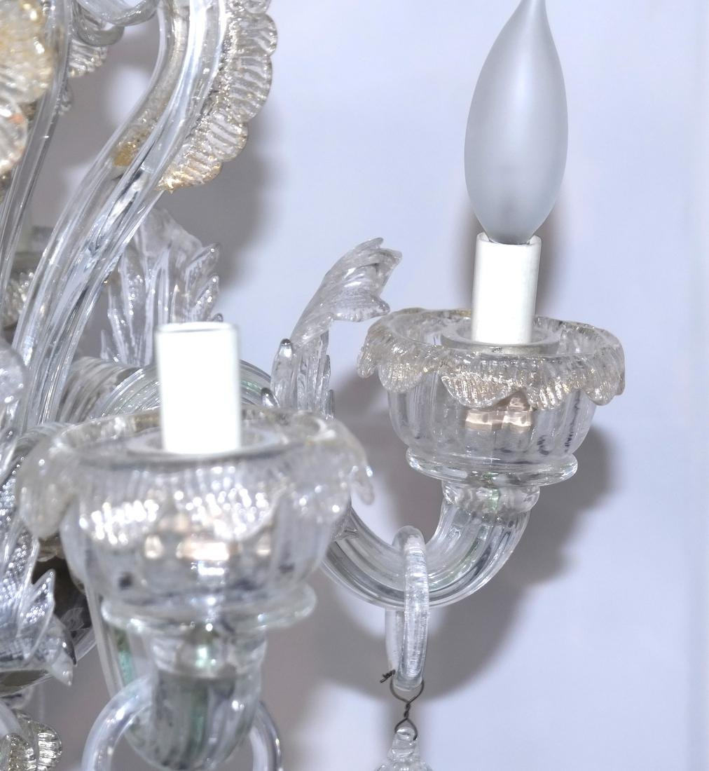 Venetian Glass Chandelier - 2