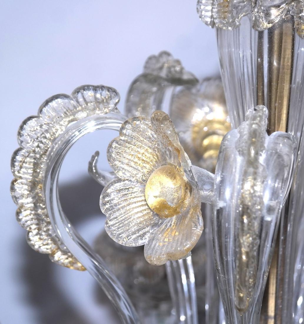 Venetian Glass Chandelier - 4
