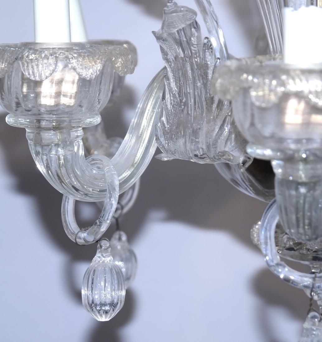 Venetian Glass Chandelier - 5
