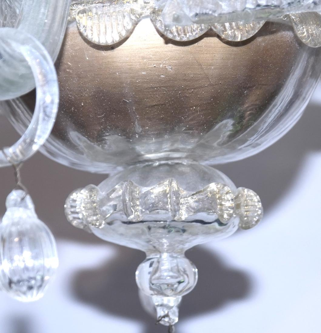 Venetian Glass Chandelier - 6