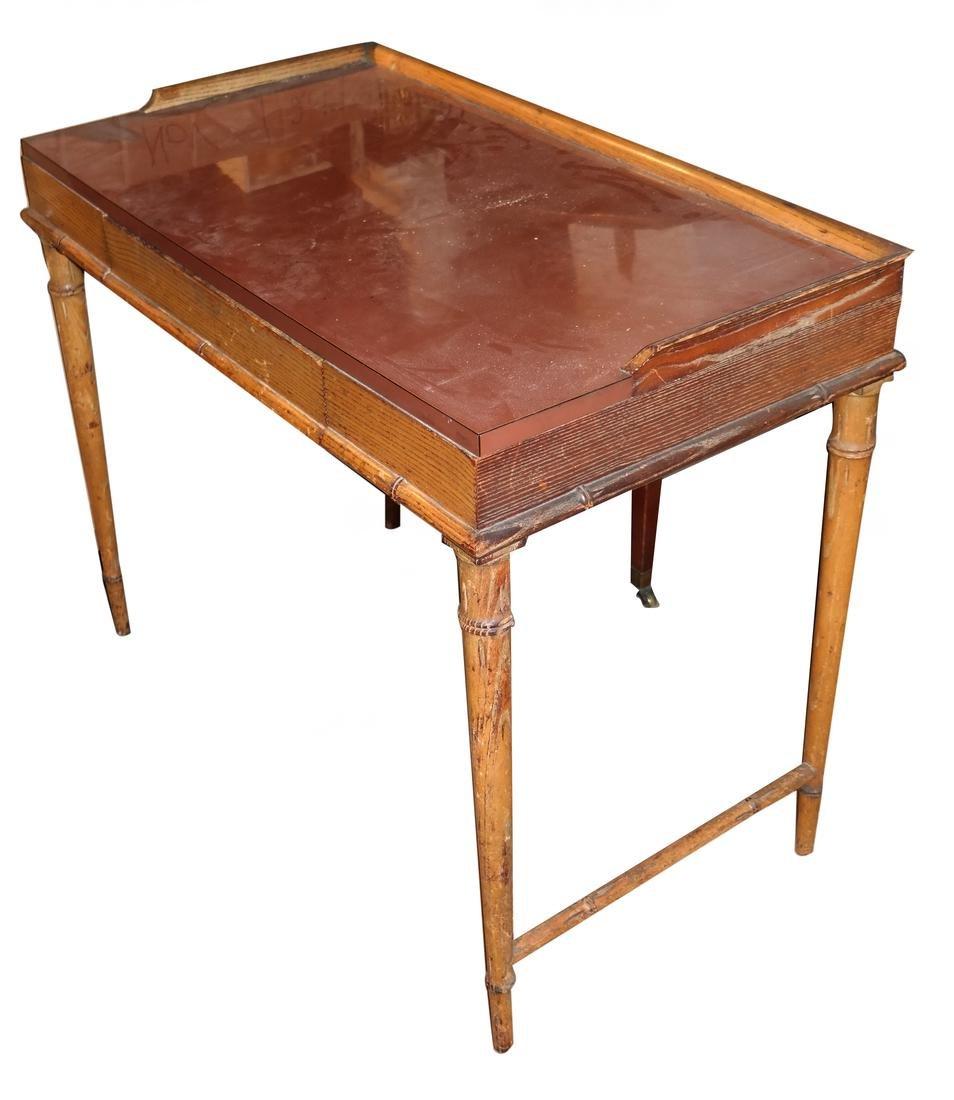 Oak Petite Desk