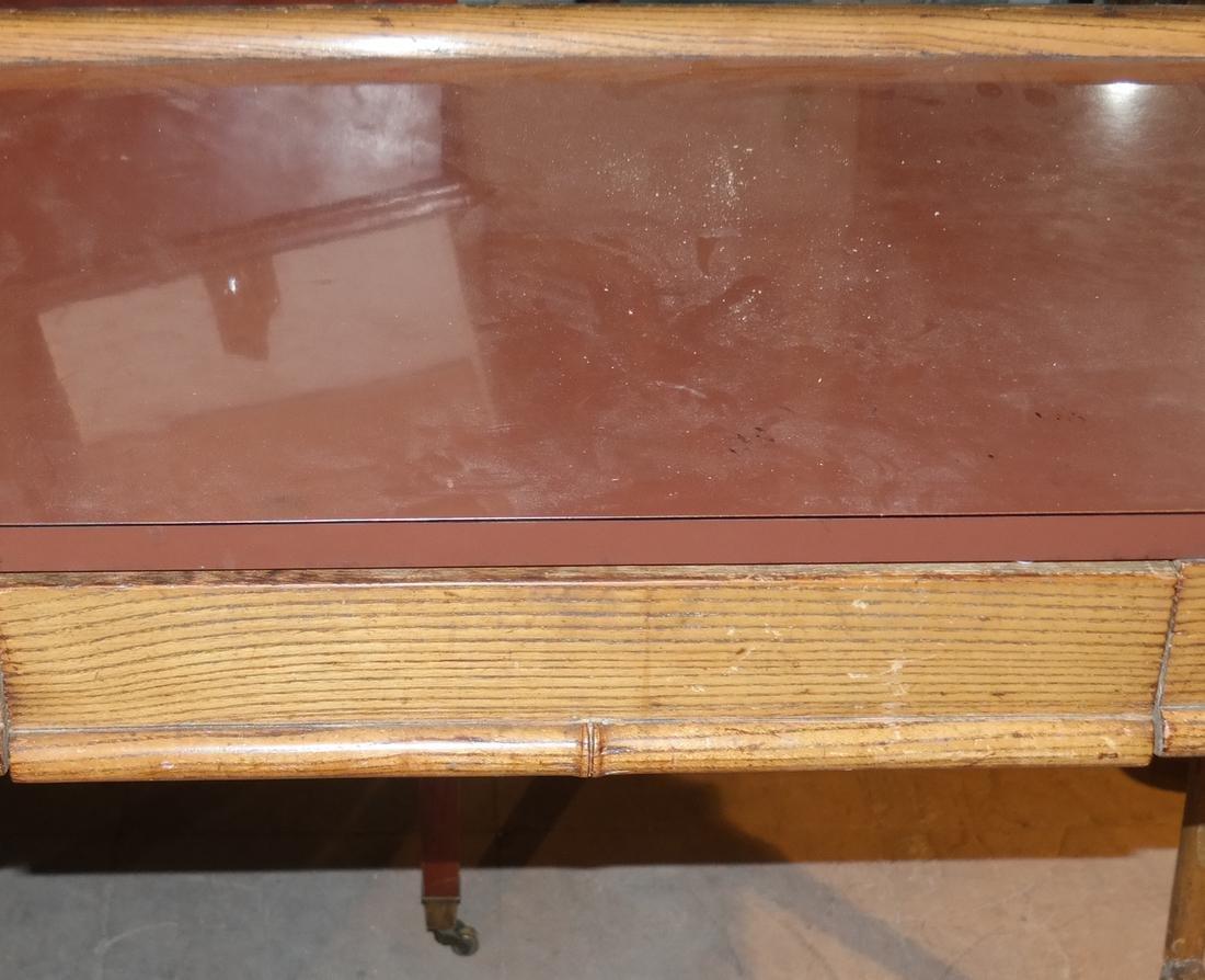Oak Petite Desk - 2