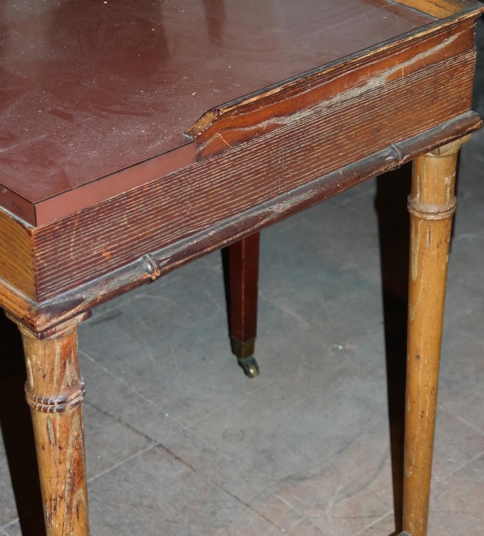 Oak Petite Desk - 3