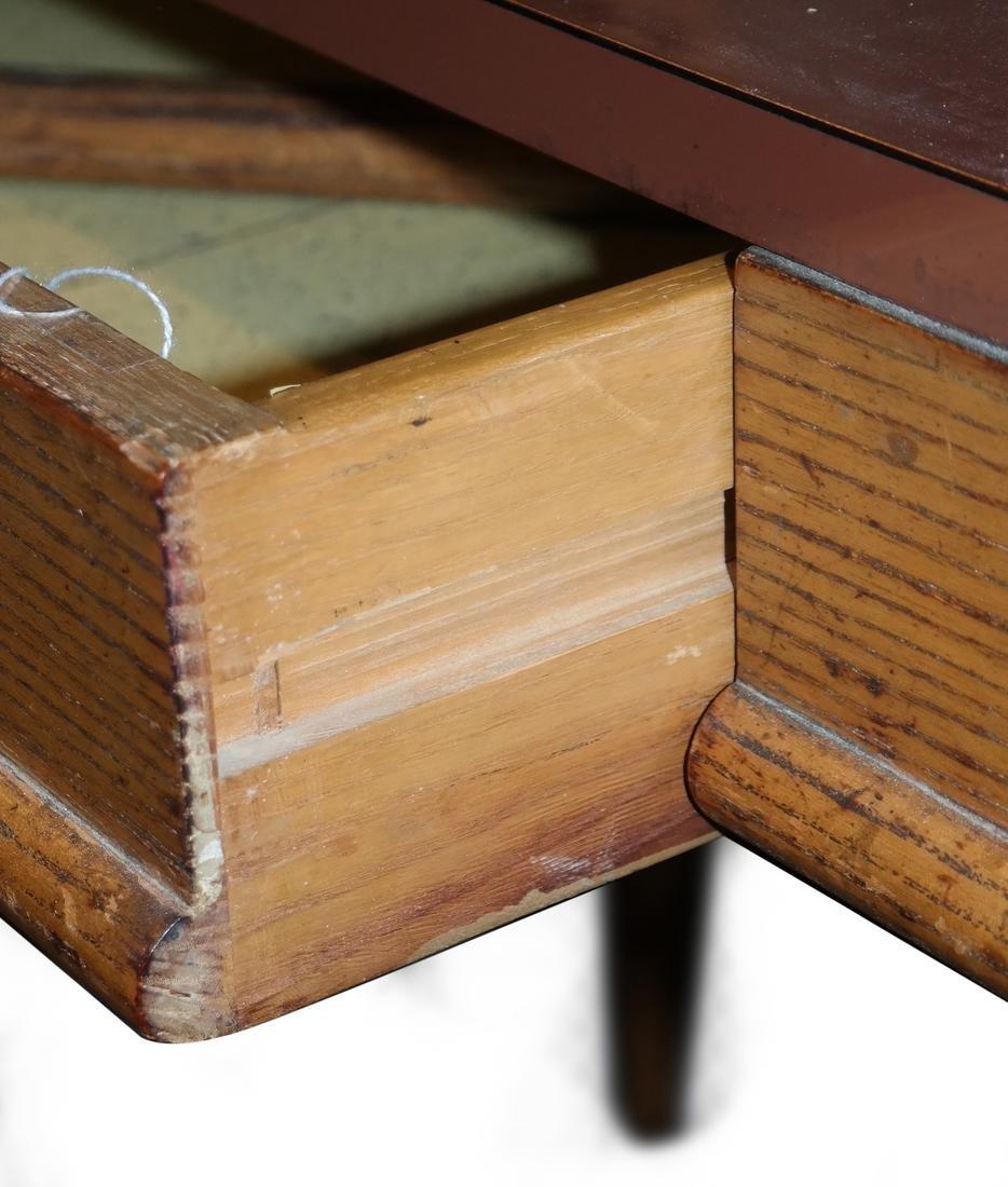 Oak Petite Desk - 4