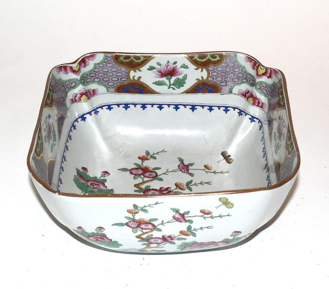Porcelain Bowls (2) and Plate - 2