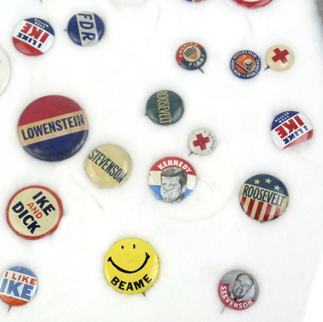 Collection of Political Buttons - 2