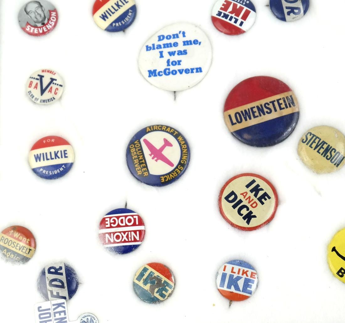 Collection of Political Buttons - 3
