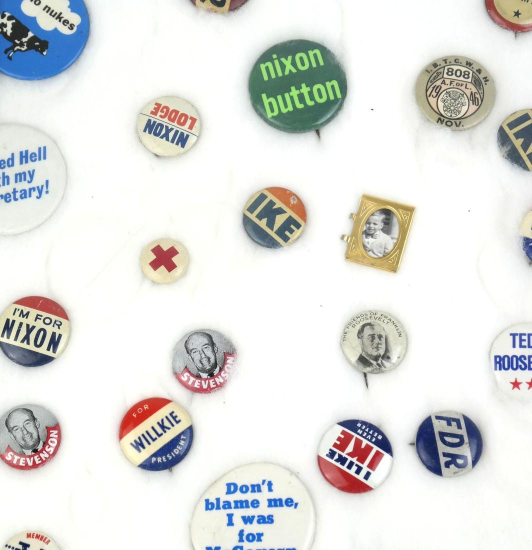 Collection of Political Buttons - 4