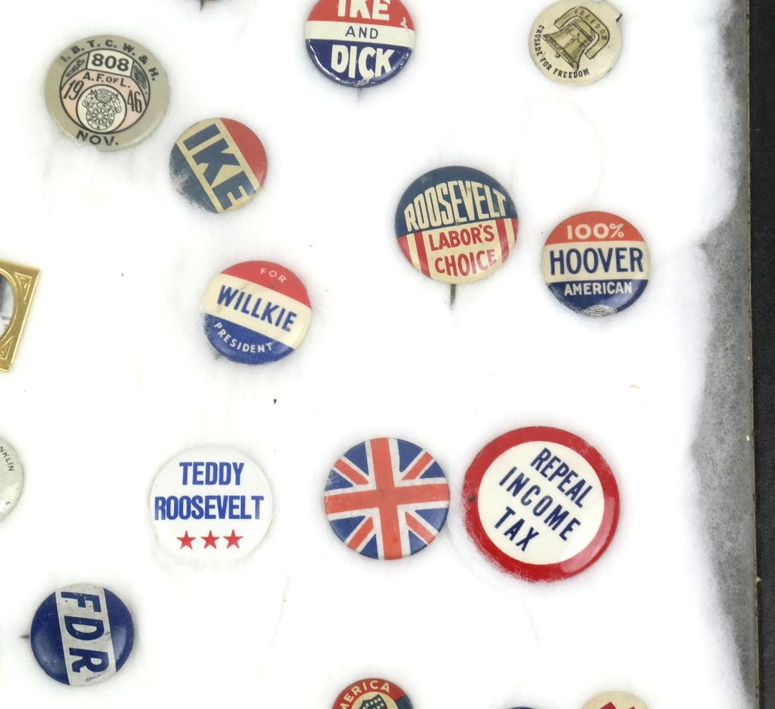Collection of Political Buttons - 5