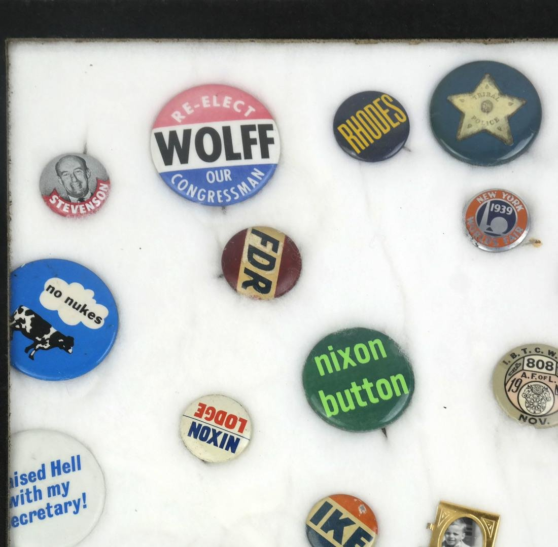Collection of Political Buttons - 7