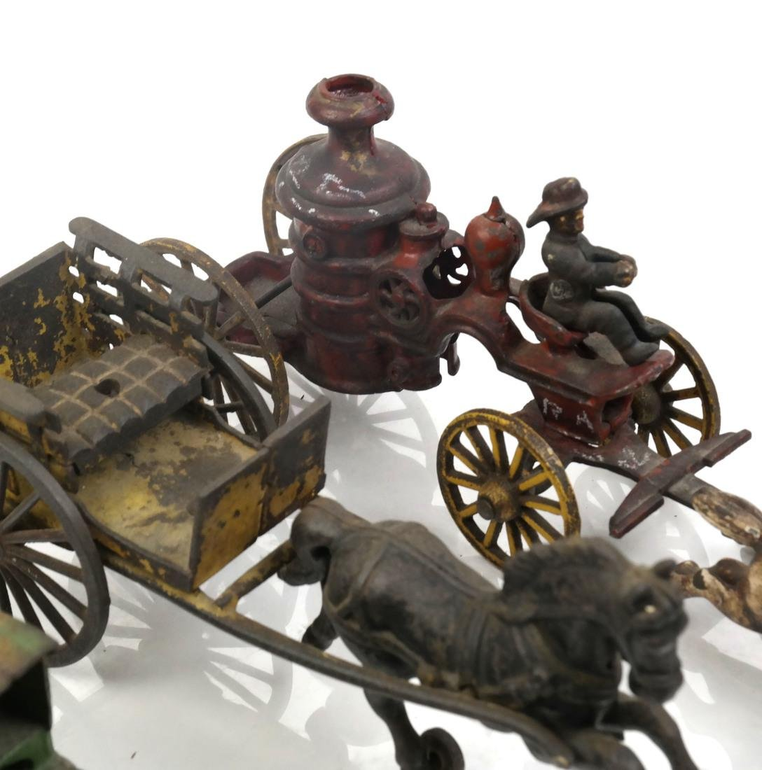 Collection of Antique Iron Toy Miniatures - 10