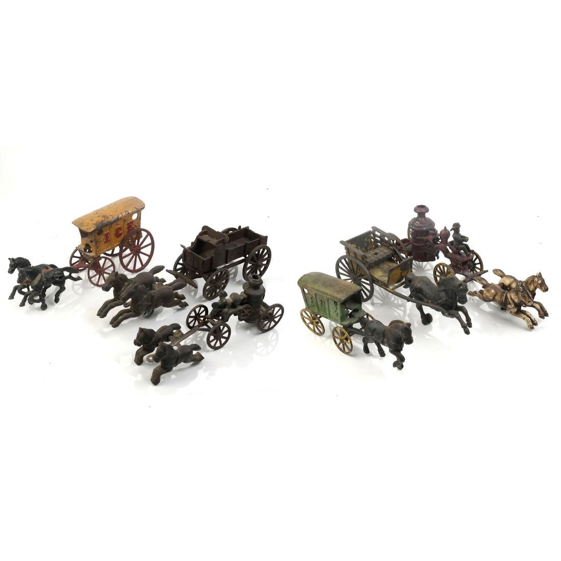 Collection of Antique Iron Toy Miniatures