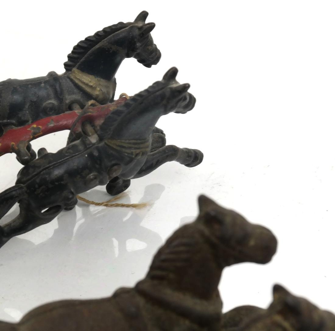 Collection of Antique Iron Toy Miniatures - 2