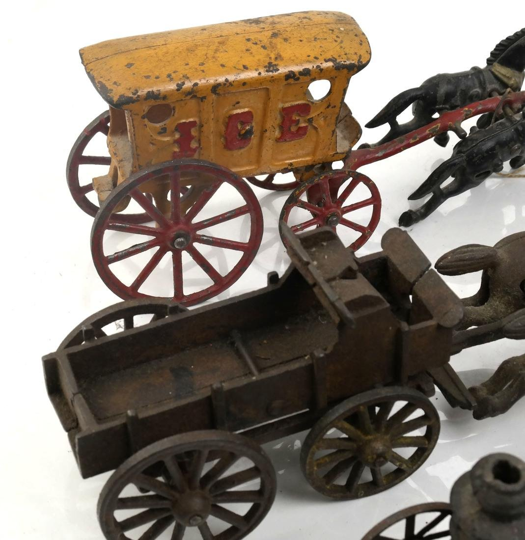 Collection of Antique Iron Toy Miniatures - 4