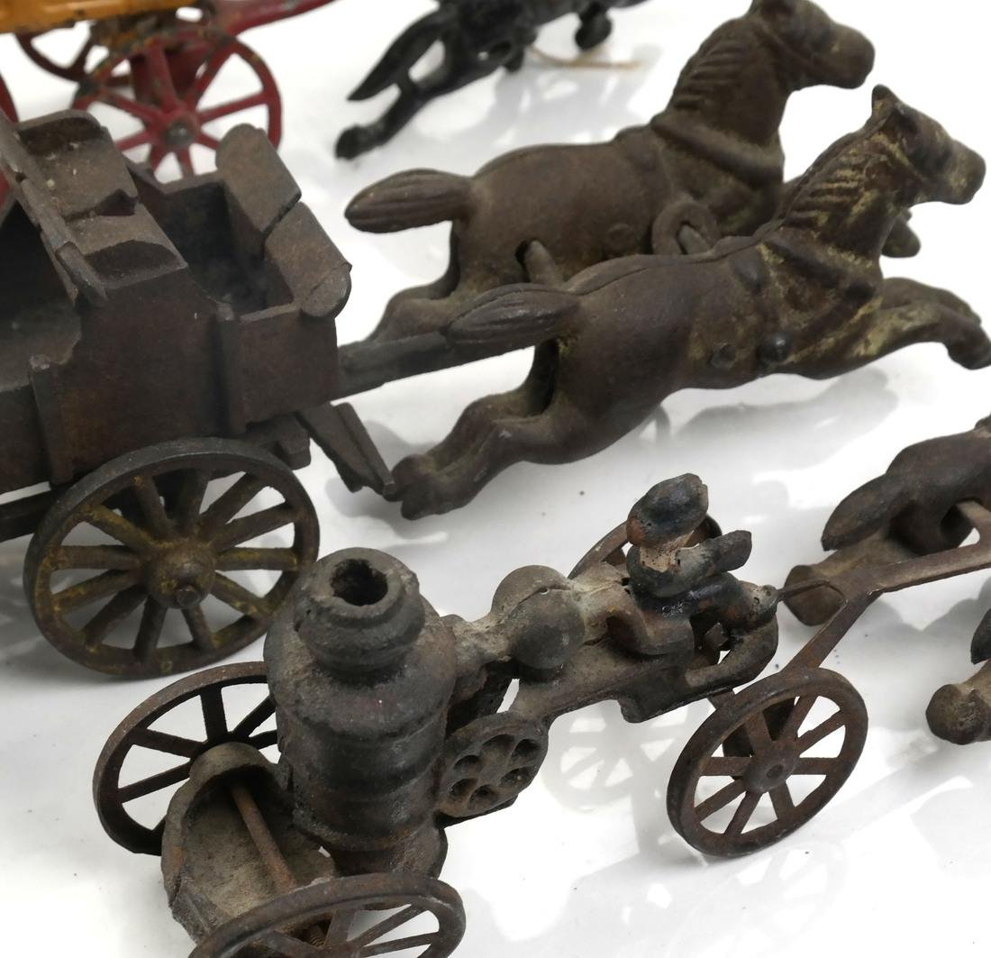 Collection of Antique Iron Toy Miniatures - 5