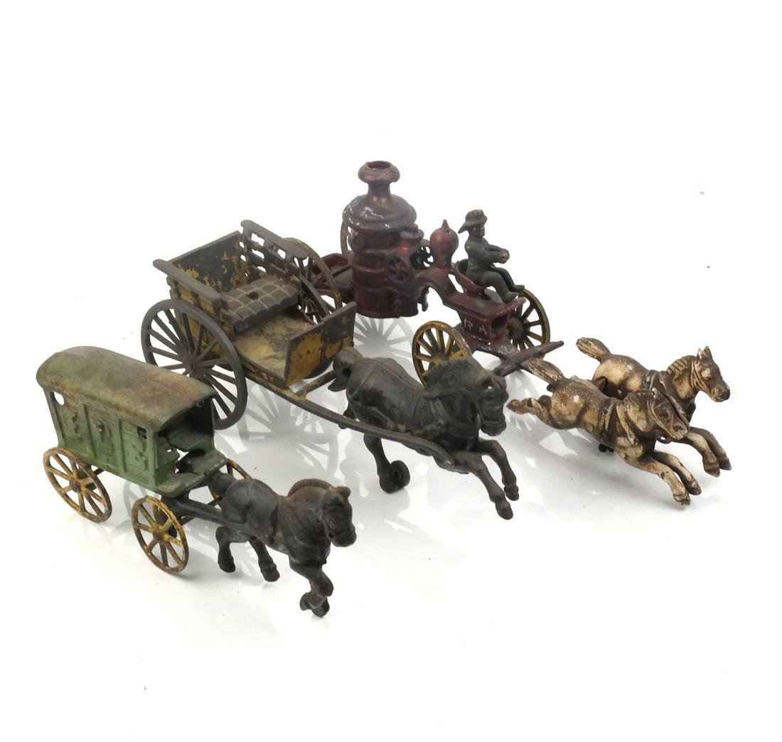 Collection of Antique Iron Toy Miniatures - 6