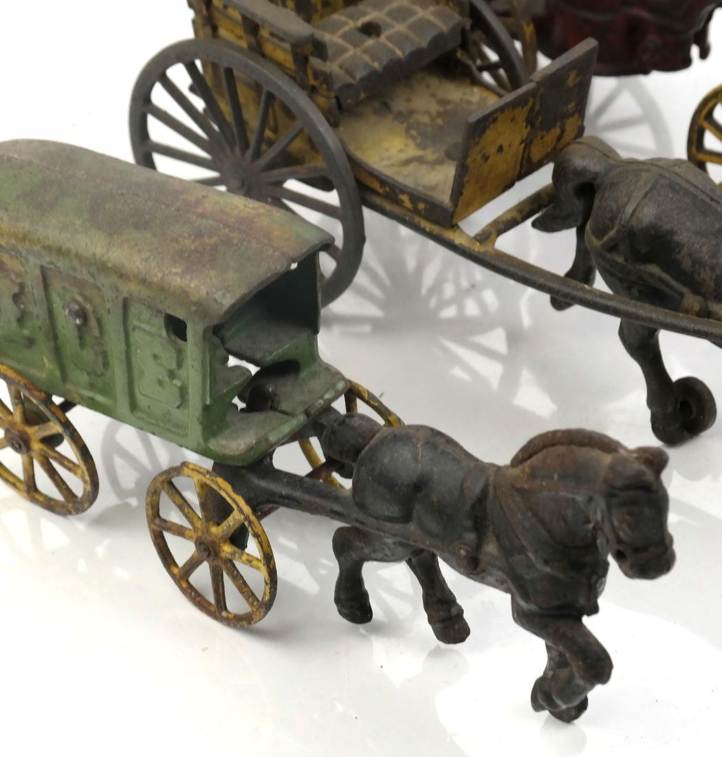 Collection of Antique Iron Toy Miniatures - 9