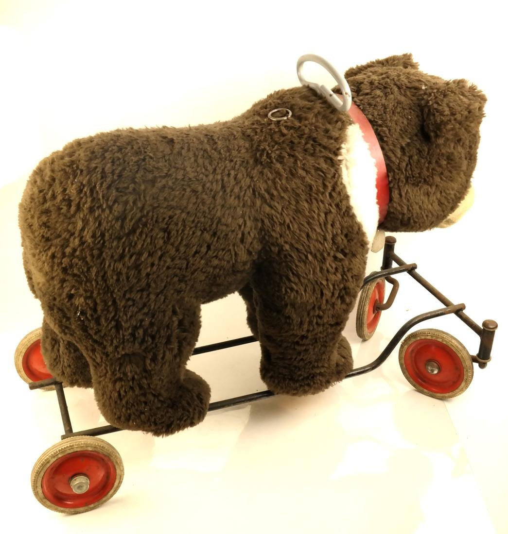 Steiff Rolling Bear With Pull