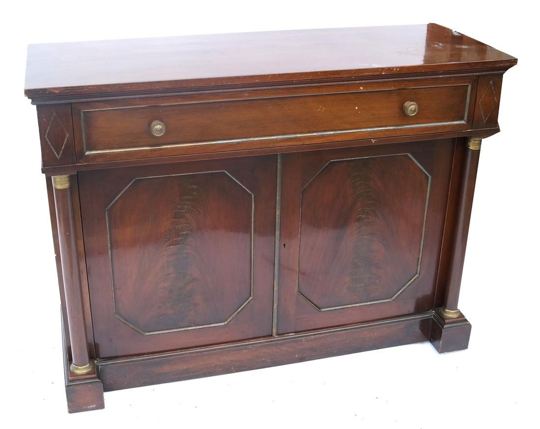 Empire-Style Mahogany Server
