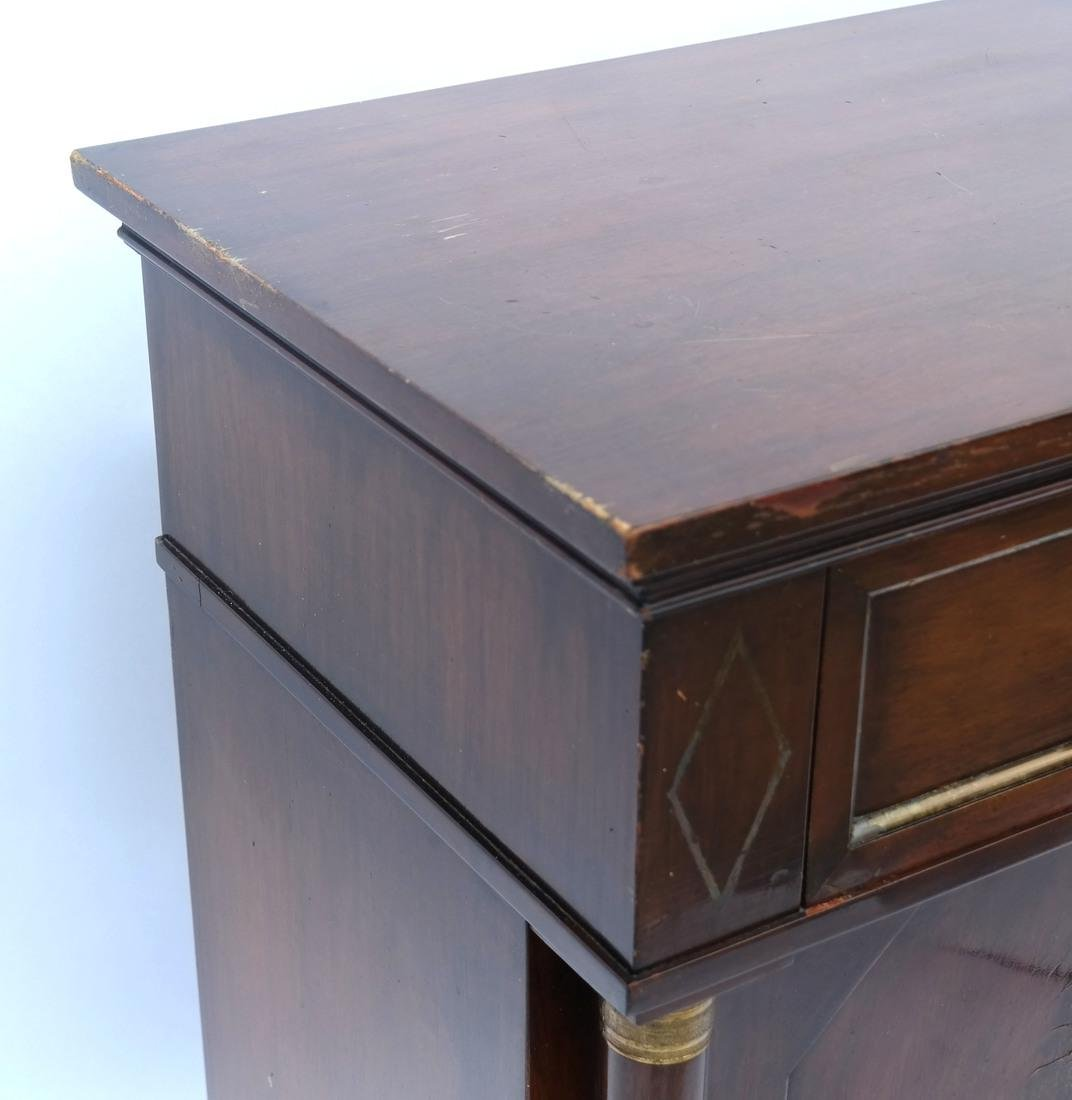 Empire-Style Mahogany Server - 2