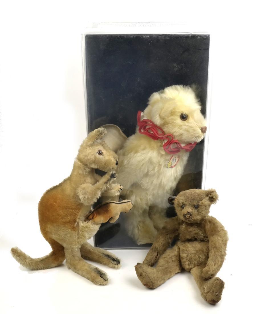 Steiff: Three Animals
