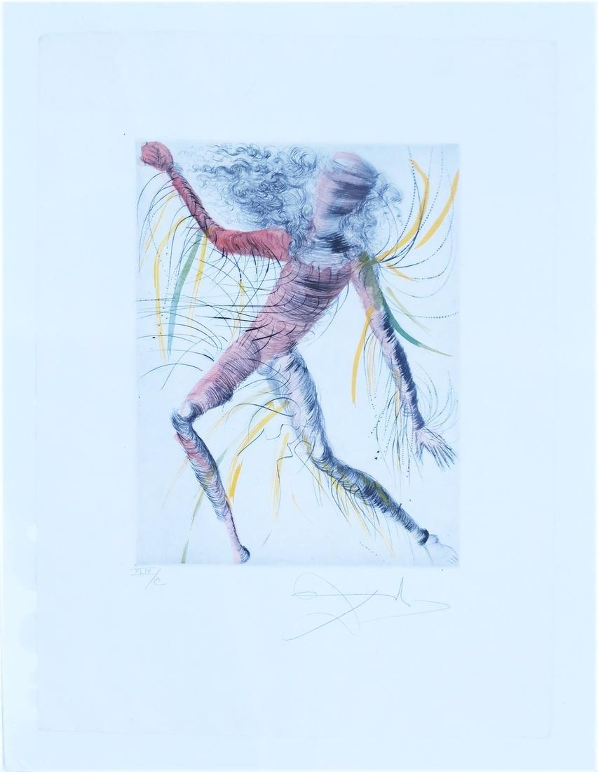 "Salvador Dali: ""The Cosmonaut"" - Print - 2"