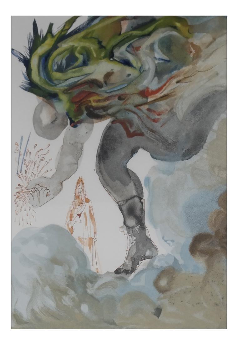 """Salvador Dali, """"Hell Canto 31"""" - Print"""