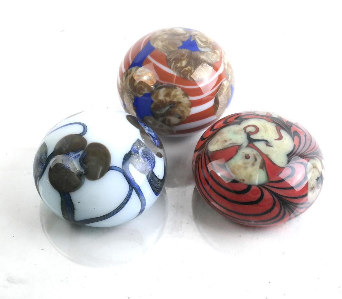 American Blown Glass Paperweights