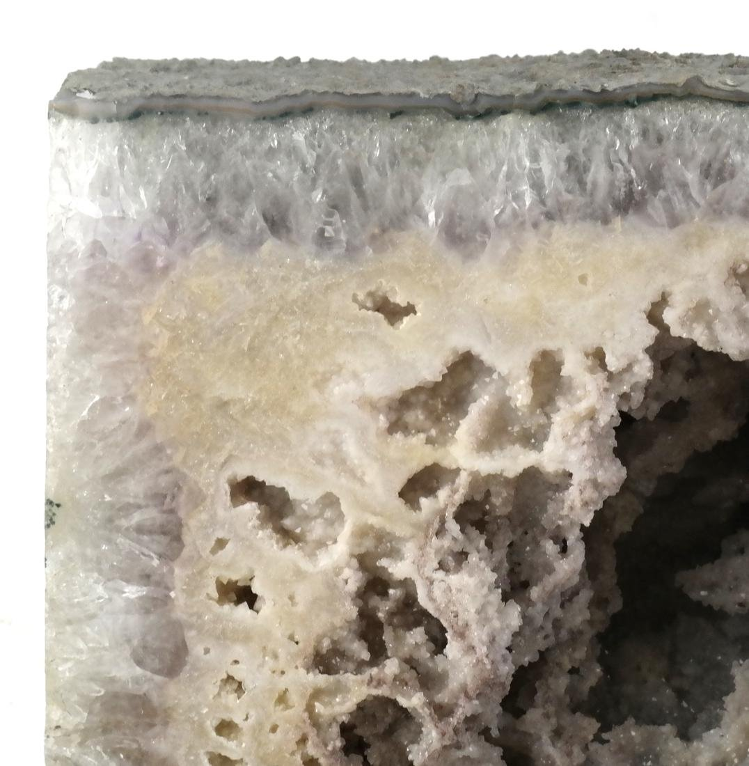 Amethyst Crystal Cathedral Geode - 4