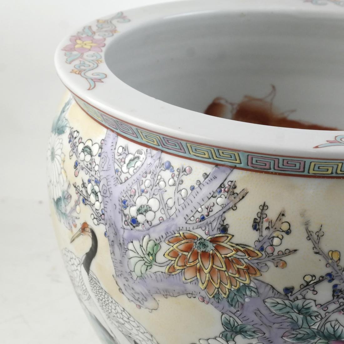 Chinese Porcelain Jardiniere - 2