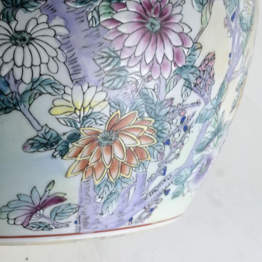 Chinese Porcelain Jardiniere - 6