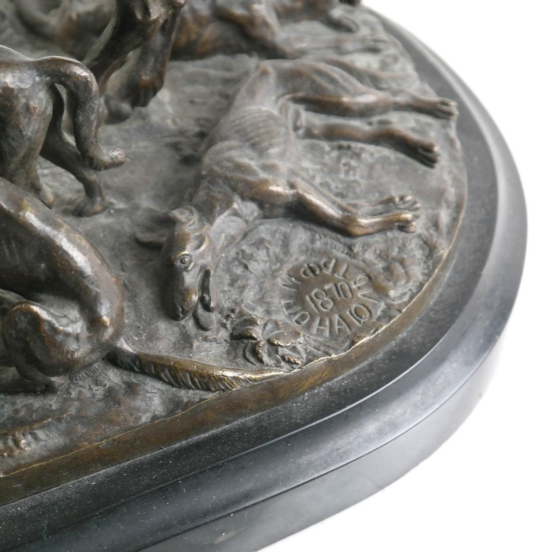 Antique Russian Bronze Group - 6