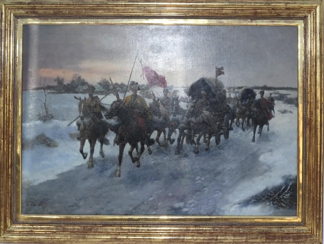 Adolf Baumgartner-Stoiloff, Siberia in Winter - 2