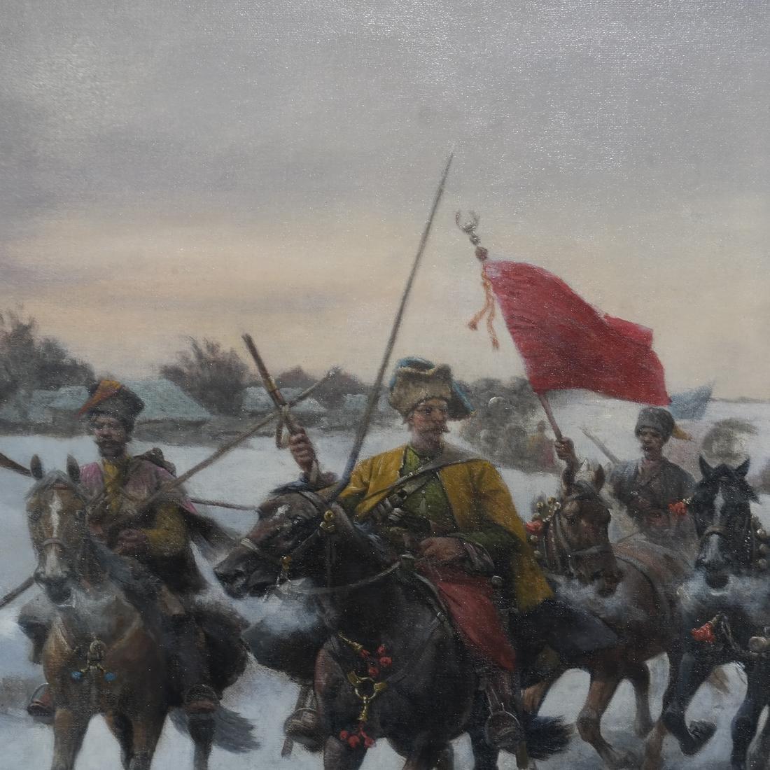 Adolf Baumgartner-Stoiloff, Siberia in Winter - 3