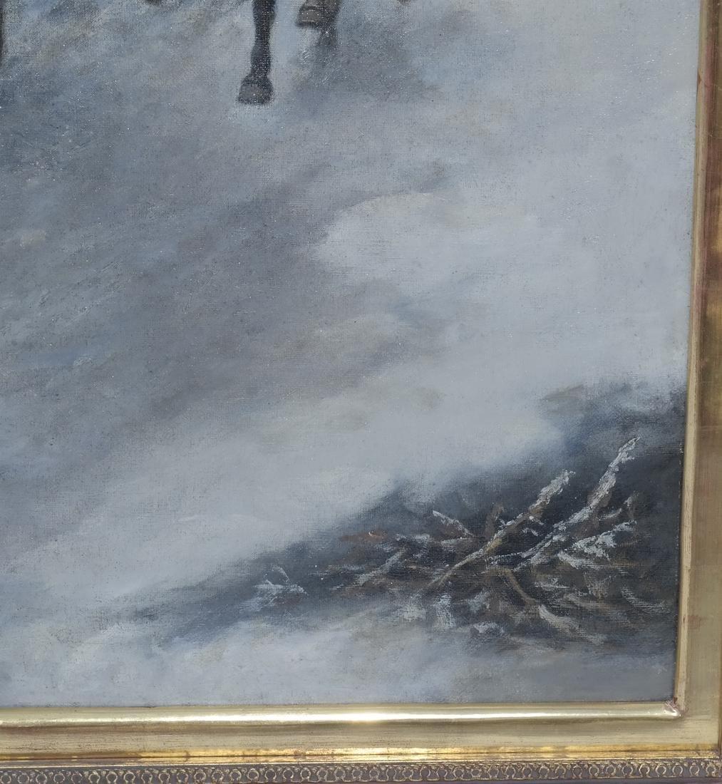 Adolf Baumgartner-Stoiloff, Siberia in Winter - 4