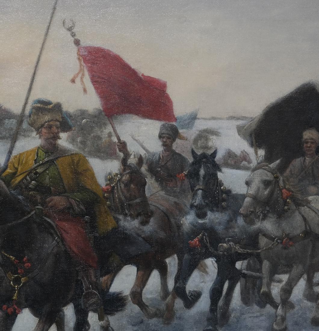 Adolf Baumgartner-Stoiloff, Siberia in Winter - 6