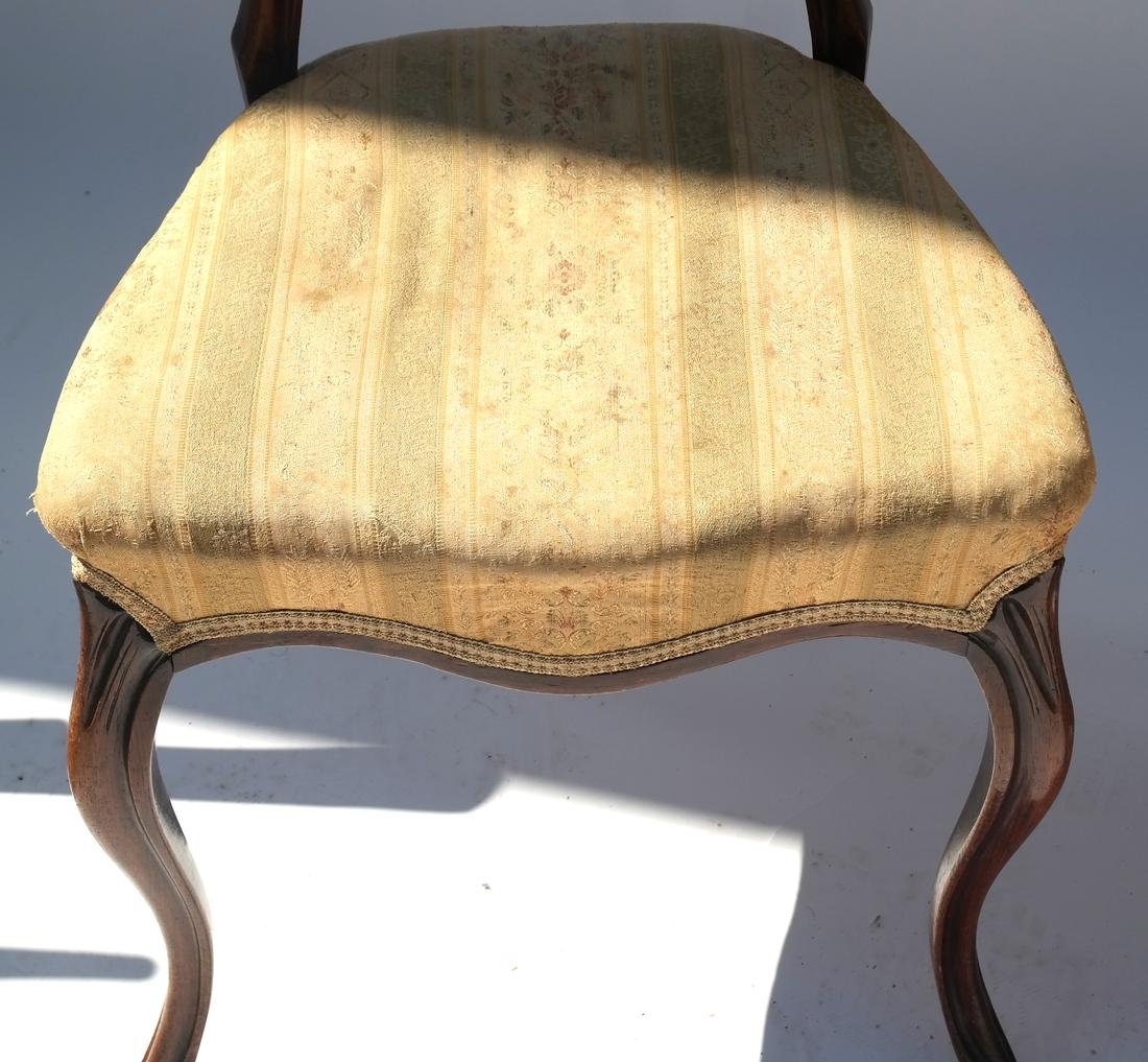 Antique English Victorian Balloon-Back Chairs - 2