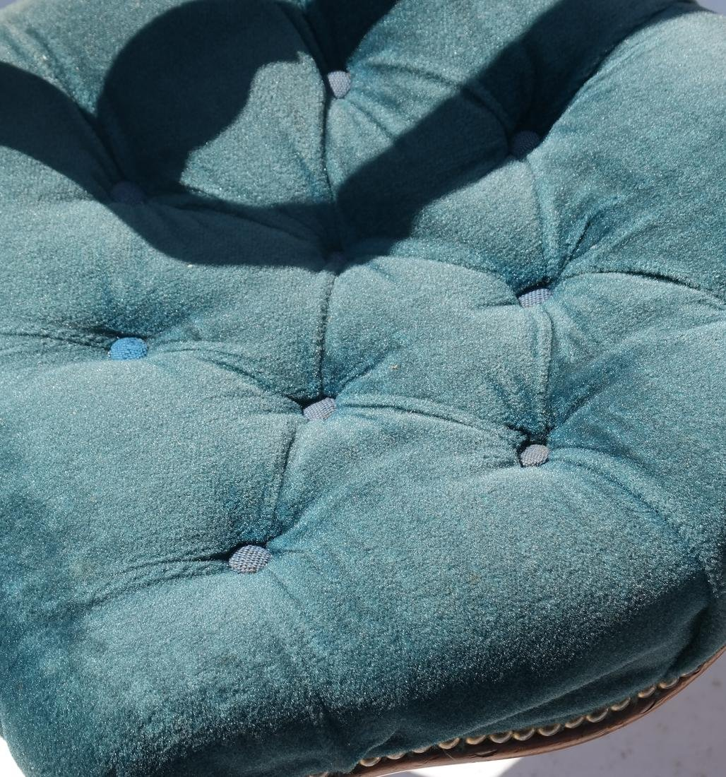 Antique English Victorian Balloon-Back Chairs - 7