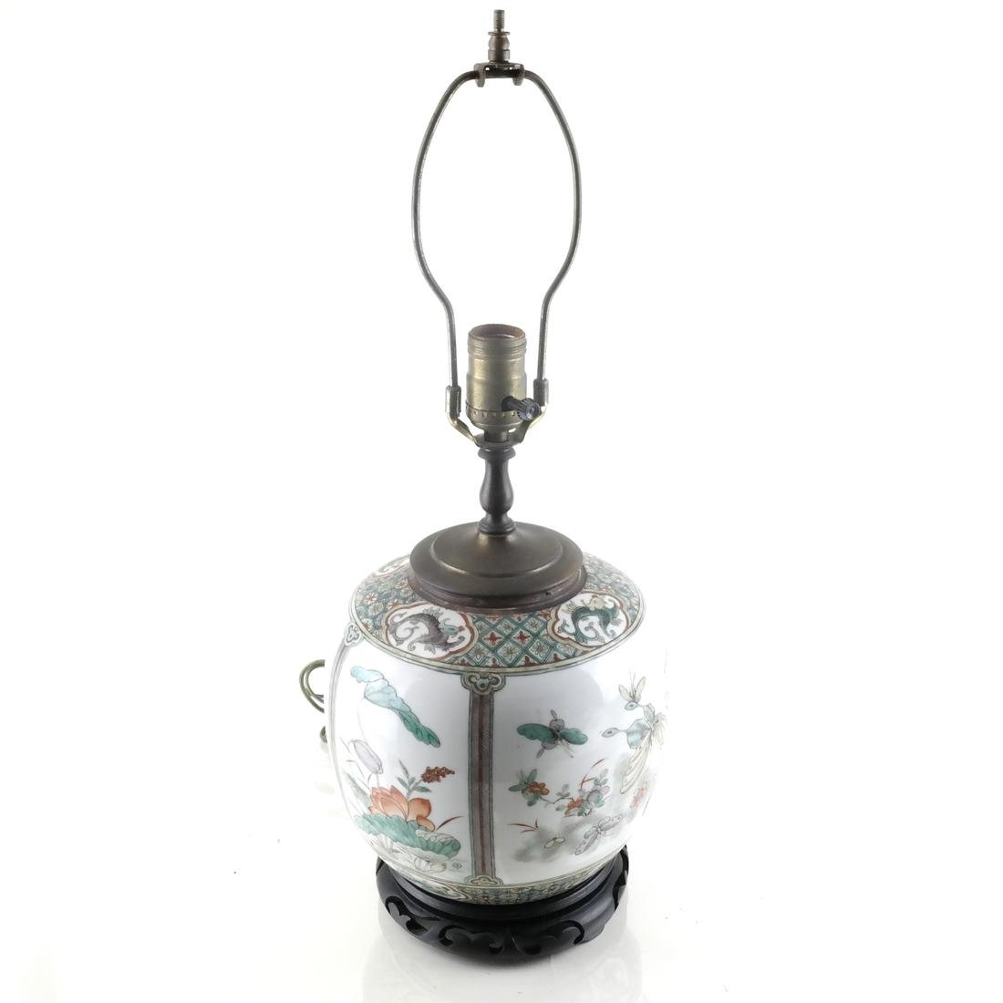 Asian Decorated Lamp