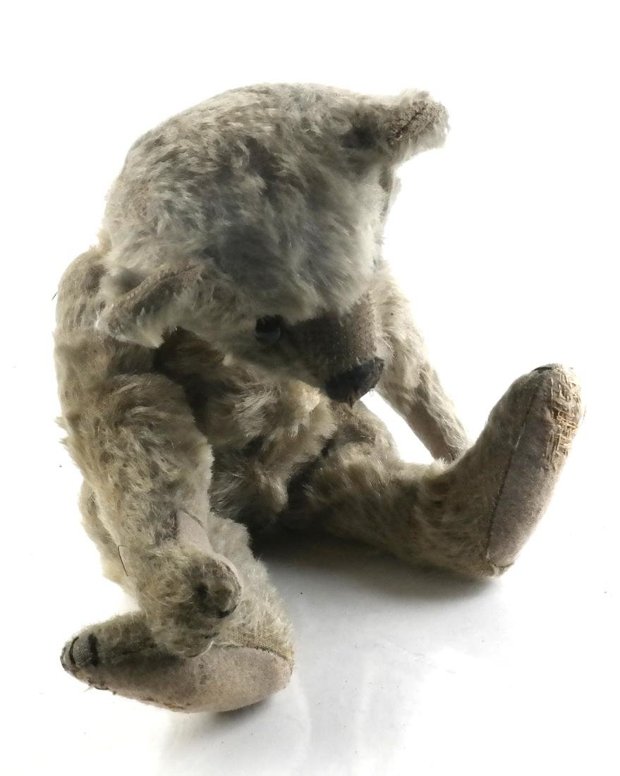 Steiff Hump Back Teddy Bear Toy With Squeeze Box, 1930