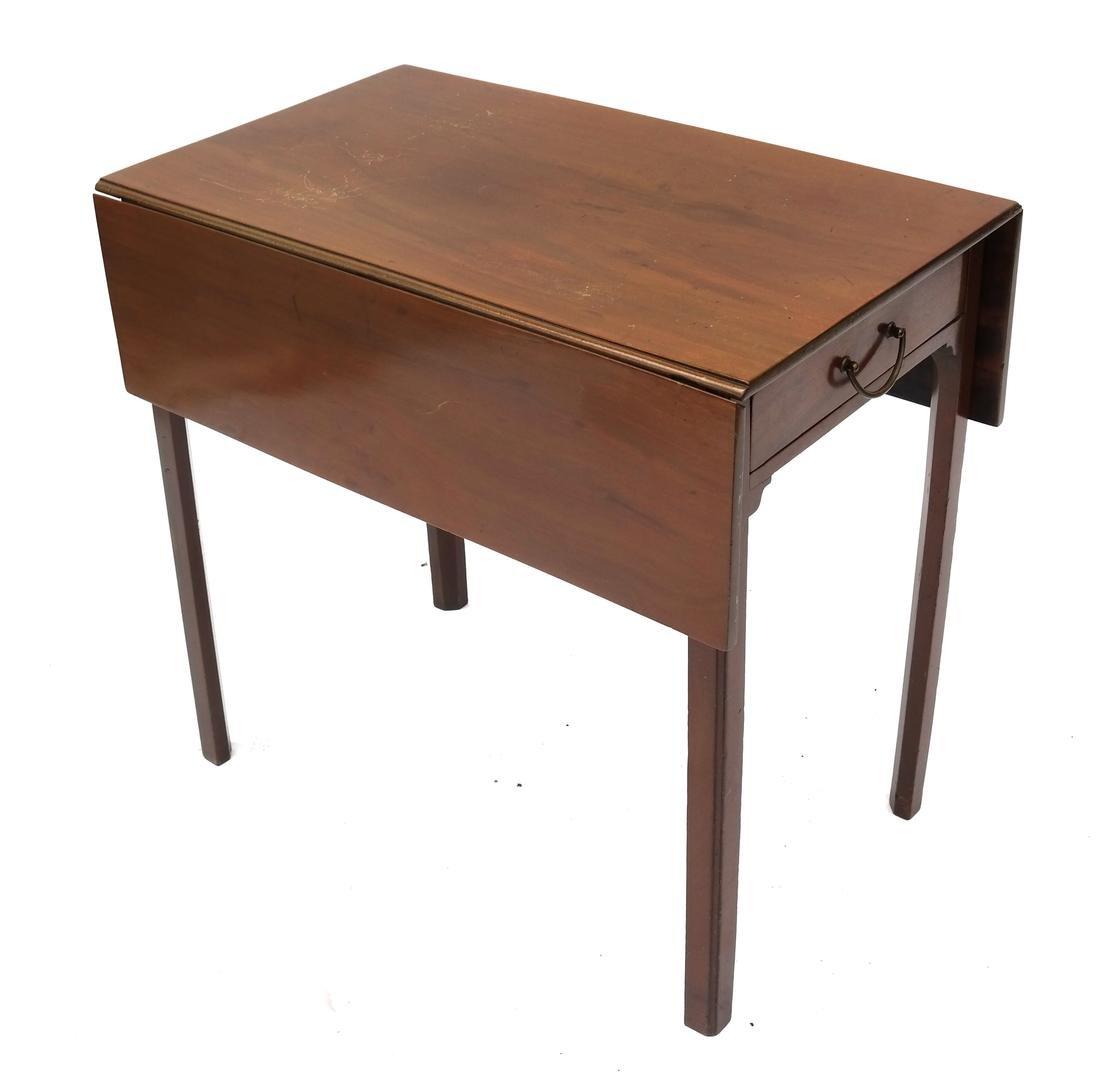 Hepplewhite-Style Pembroke Table