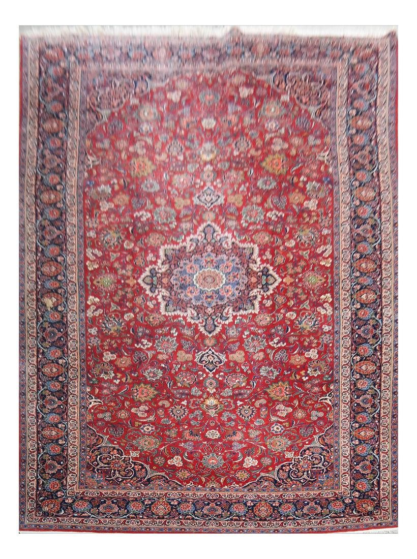 Isfahan All-Over Design Carpet