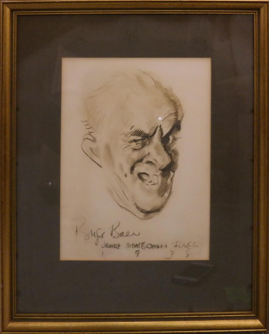 James Montgomery Flagg, Portrait Print