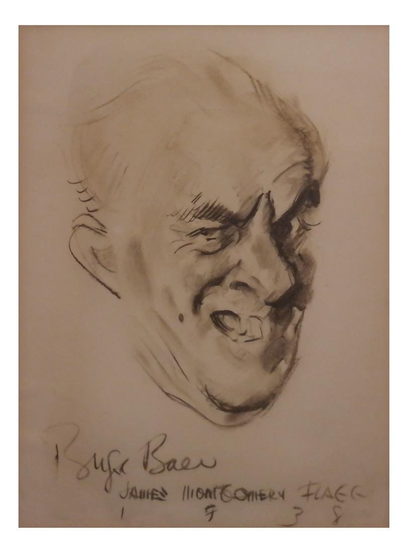 James Montgomery Flagg, Portrait Print - 2