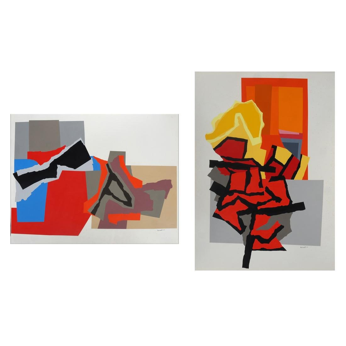 Harold Krisel, Abstract Screen Prints