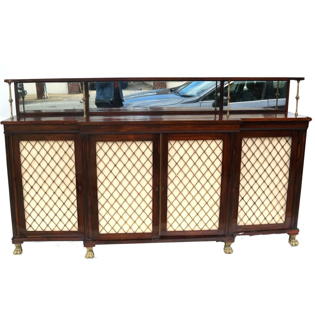 English Regency-Style Sideboard