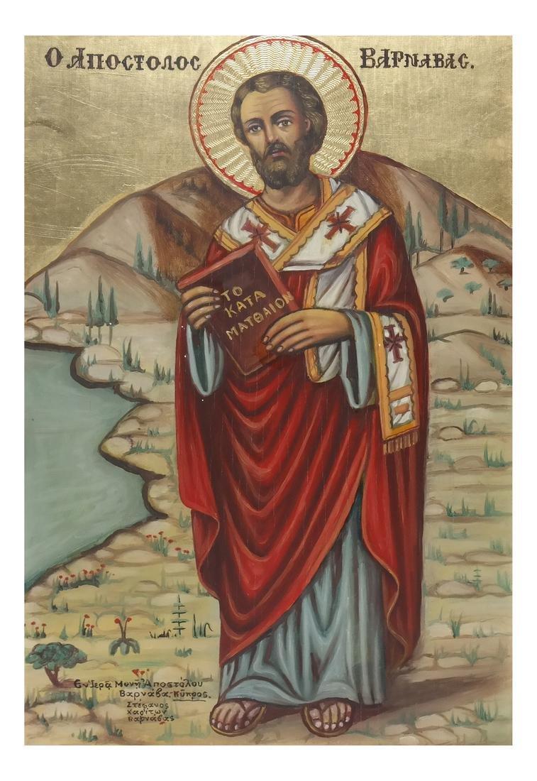 20th Century Decorated Icon